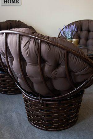 крісло кокон на підлогу папасан альфа