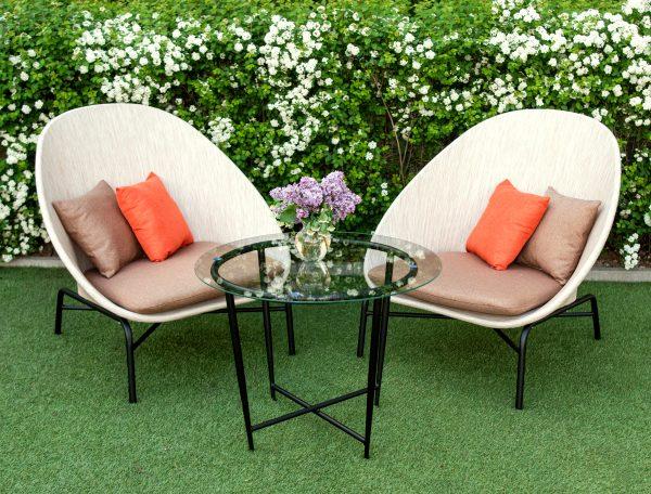 мебель из текстилена беж