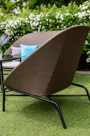 текстилен на садовом кресле