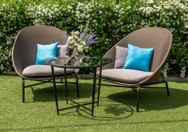 мебель садовая из текстилена комплект для двоих