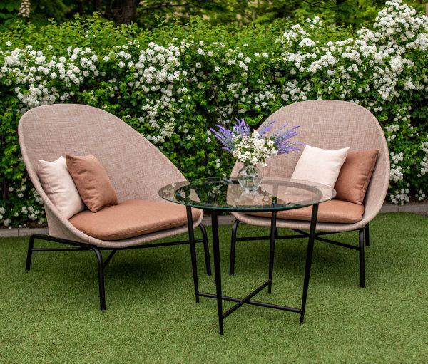 садовый декор мебель из текстилена