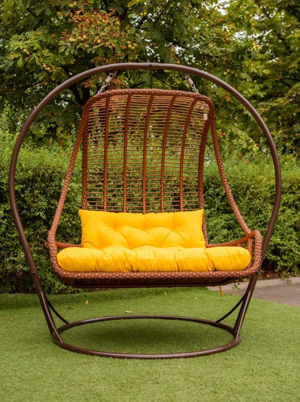 Двухместное подвесное кресло Дуэт Украинские конструкции