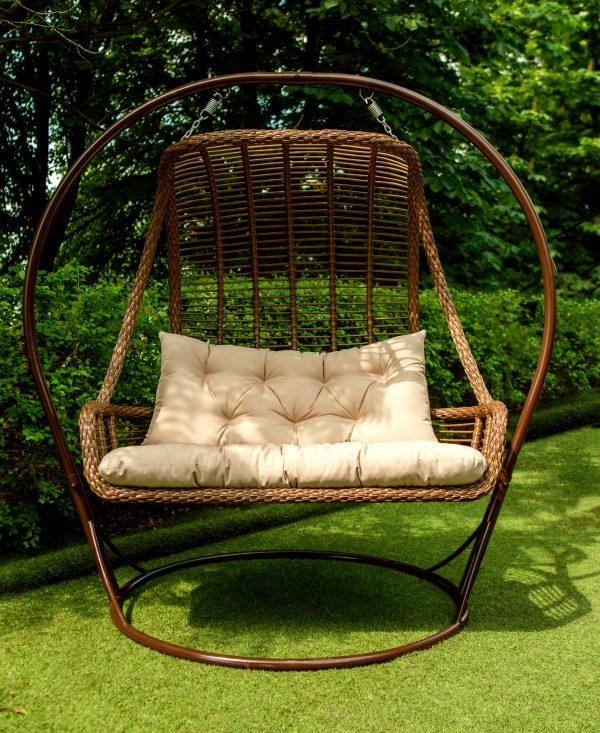 двухместное родвесное кресло по низкой цене