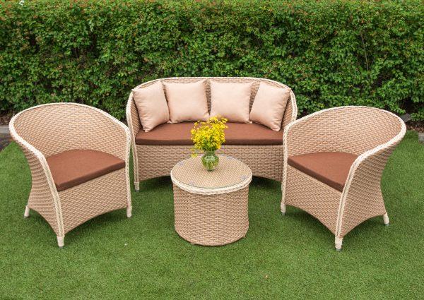 комплект мебели плетение эко ротанг