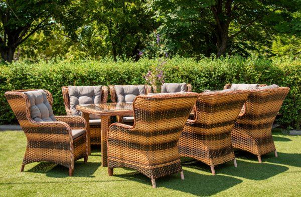 Мебель садовая Мадейра от ЮМК фабрикиль из ротанга
