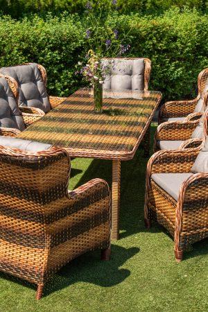 мебель для улицы стол и 8 стульев