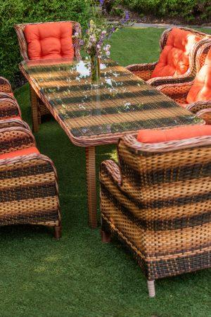 комплект мебели Мадейра двухцветный ротанг