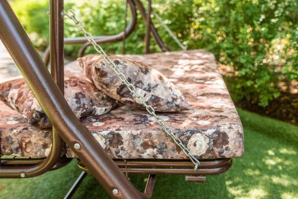 качели садовые с раскладными сиденьями
