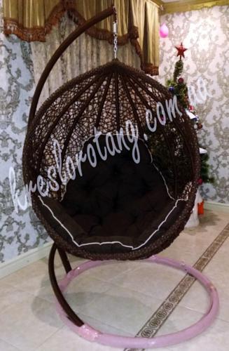 кресло подвесное Веста шоколад