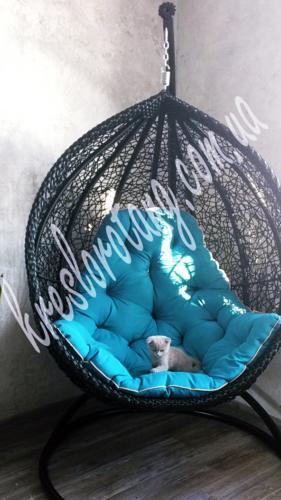 кресло кокон Веста с массивным ободом