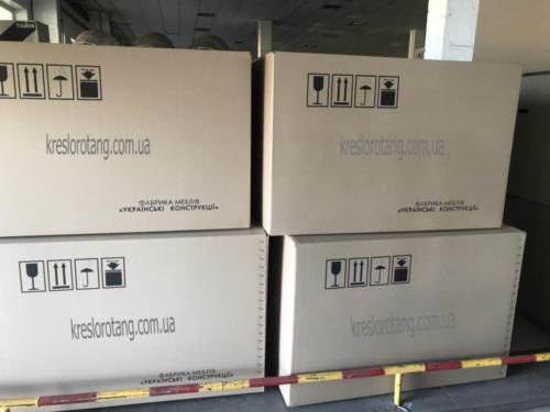 Кресла подвесные коробки с фабрики